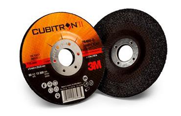 Dischi ibridi per il taglio/sbavo Cubitron™ II per Abrasivi 3M per Taglio e Sbavo