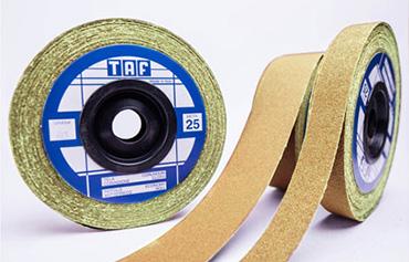 Rotoli antispreco per Abrasivi TAF per Pulizia e la finitura di superfici